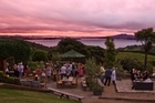 Mudbrick Vineyard capitalises on its magnificent views with an outdoor Potager Bistro.