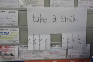 Take a smile. Photo / Supplied