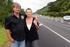 Malcolm and Sharlene Barnett believe the median barrier could have saved their daughter Krystal's life. Photo / Mark Coote