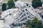 Aftershocks meant those trying to rescue others in Christchurch after the earthquake were constantly in danger. Photo / Mark Mitchell