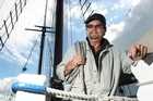 Ray Ferenczy loves sailing and being at sea. Photo / Janna Dixon