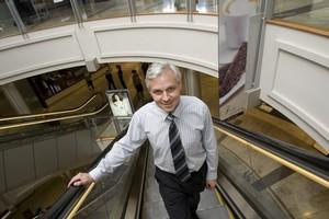 Justin Lynch, Westfield New Zealand's director. Photo / Richard Robinson