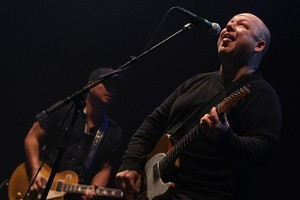 The Pixies perform to a large crowd at the Vector Arena. Photo / Greg Bowker