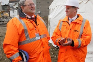 Canterbury Earthquake Recovery Minister Gerry Brownlee and Prime Minister John Key. File photo / APN
