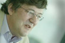 Stephen Fry. Photo / Paul Estcourt