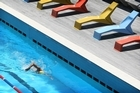 Free pool entry depends on stagnant number of swimmers. Photo / Greg Bowker