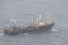 The Oyang 70 fishing trawler. Photo / supplied