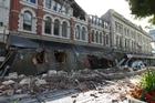 Cashel Street and its mall were severely damaged during the earthquake. Its replacement, Re:Start, has been a success - for high-end retailers. Photo / Simon Baker