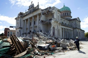 Christchurch residents have endured a lot since the earthquake. Photo / Simon Baker