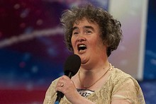 Susan Boyle was 'discovered' on the British version of the talent show. Photo / Supplied