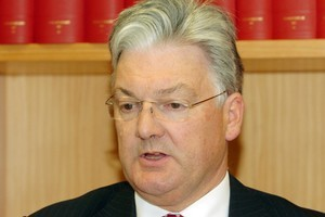 United Future leader Peter Dunne. File photo / NZPA