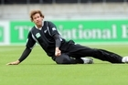 New Zealand's Jacob Oram has been ruled out of the next series. Photo / File