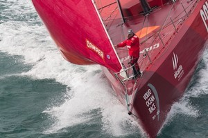 Camper in action during the Volvo Ocean Race. Photo / Getty Images