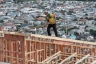 A slumping home construction market in New Zealand pushed Fletcher Building's profits down 13pc for the first half of the financial year. Photo / Mark Mitchell