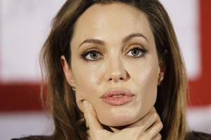 Angelina Jolie's film In the Land of Blood and Honey has flopped in Serbia. Photo / AP