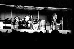 Led Zeppelin at Western Springs. Photo / Jed Town