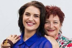 Mary Jane and daughter Morgana O'Reilly. Photo / Richard Robinson