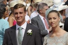 Monaco's Prince Pierre Casiraghi, grandson of Hollywood legend Grace Kelly. The prince was hospitalised after being beaten up in a nightclub fight in New York. Photo / AFP