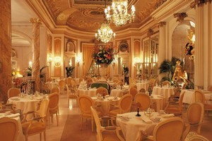 London's The Ritz serves memorable - and expensive - afternoon teas in its opulent Palm Court room. Photo / Supplied