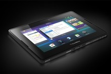 Research In Motion is fighting an uphill battle against Apple and Android with its BlackBerry PlayBook tablet. Photo / Supplied