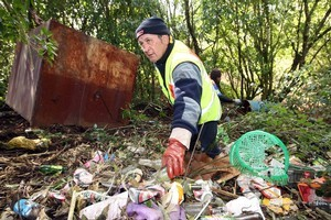 It only takes a few inconsiderate, thoughtless people to turn something beautiful into a pile of rubbish. Photo / Rotorua Daily Post