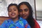 Ranjeeta Sharma son Akash took out restraining orders on husband Diwesh who pleaded guilty to killing her. Photo / Christine Cornege