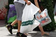 New Zealand retail sales have dropped 2.5 per cent. Photo / Herald on Sunday