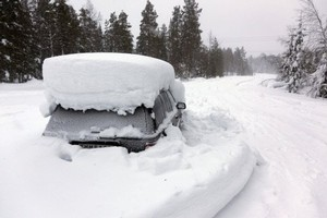 Experts say the Swede's 60 day ordeal trapped in this car is theoretically possible. Photo / AFP