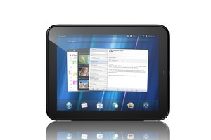 HP's TouchPad was a massive market failure, pulled from shelves just seven weeks after its release. Photo / Supplied