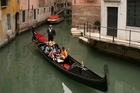 Rekindle your romance and see the sights of Venice on a gondola ride. Photo / Supplied