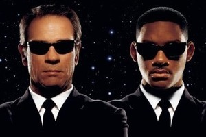 Will Smith helped write the script for Men In Black III. Photo / Supplied