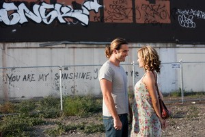 Dustin Clare and Camille Keenan star in Sunday. Photo / Supplied