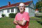 Maurice Freeth had borer in his house. Photo / Doug Sherring