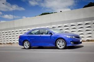 The Toyota Camry Atara. Photo / Supplied