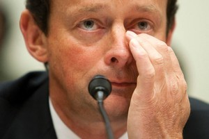 BP chief Tony Hayward's comment that he wanted his life back went down like a lead submersible. Photo / Bloomberg