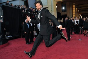 Bret McKenzie on the red carpet at the 84th Academy Awards. Photo / AP