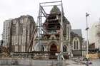 Earthquake damaged Cathedral.