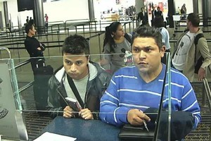Juan Carlos Leal Casillas (left), Jose Roberto Jimenez-Perez and three other robbers from Colombia have been sentenced to jail. Photo / Supplied