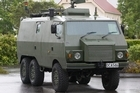 A New Zealand Army Pinzgauer truck similar to the two involved in the crash. Photo / Mark Mitchell