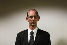 David Bain at his re-trial in 2009. Photo / The Press