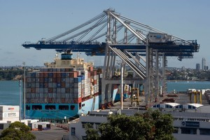 The trade surplus was $134 million last month for an annual surplus of $207 million, according to Statistics New Zealand. Photo / APN