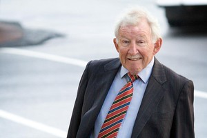 Sir Ron Brierley. File photo / Greg Bowker