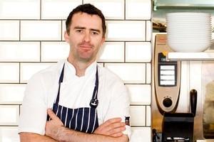 Roxy's award-winning chef Sean Marshall. Photo / Babiche Martens