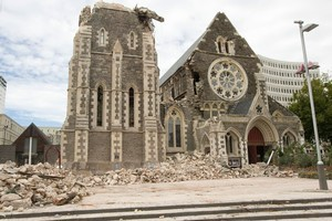 Christchurch Cathedral. Photo / Mark Mitchell