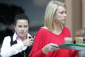 Alison Mau (right) with her new fiancee Karleen Edmonds. Photo / Herald on Sunday