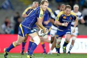 Otago's Tony Brown in action against Auckland during an ITM Cup rugby match. Photo / NZPA, Wayne Drought