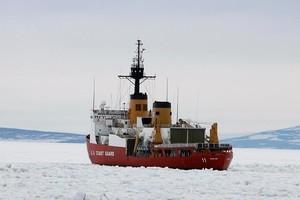 Ice Breaker on the Ross Sea, generic, Ross Island, Antarctica, Saturday, January 20, 2007. Credit:NZPA / Wayne Drought