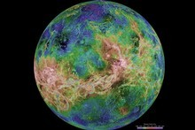 The planet of Venus. Photo / NASA
