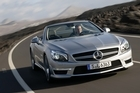The AMG SL63 is now fitted with a 5.5 litre twin-turbo V8. Photo / supplied