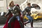 A scene from hyped upcoming film The Avengers. Photo / Supplied